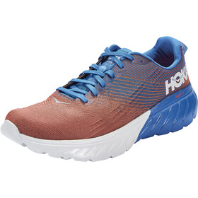 Hoka One One Mach 3 Chaussures Homme, imperial blue/mandarin red